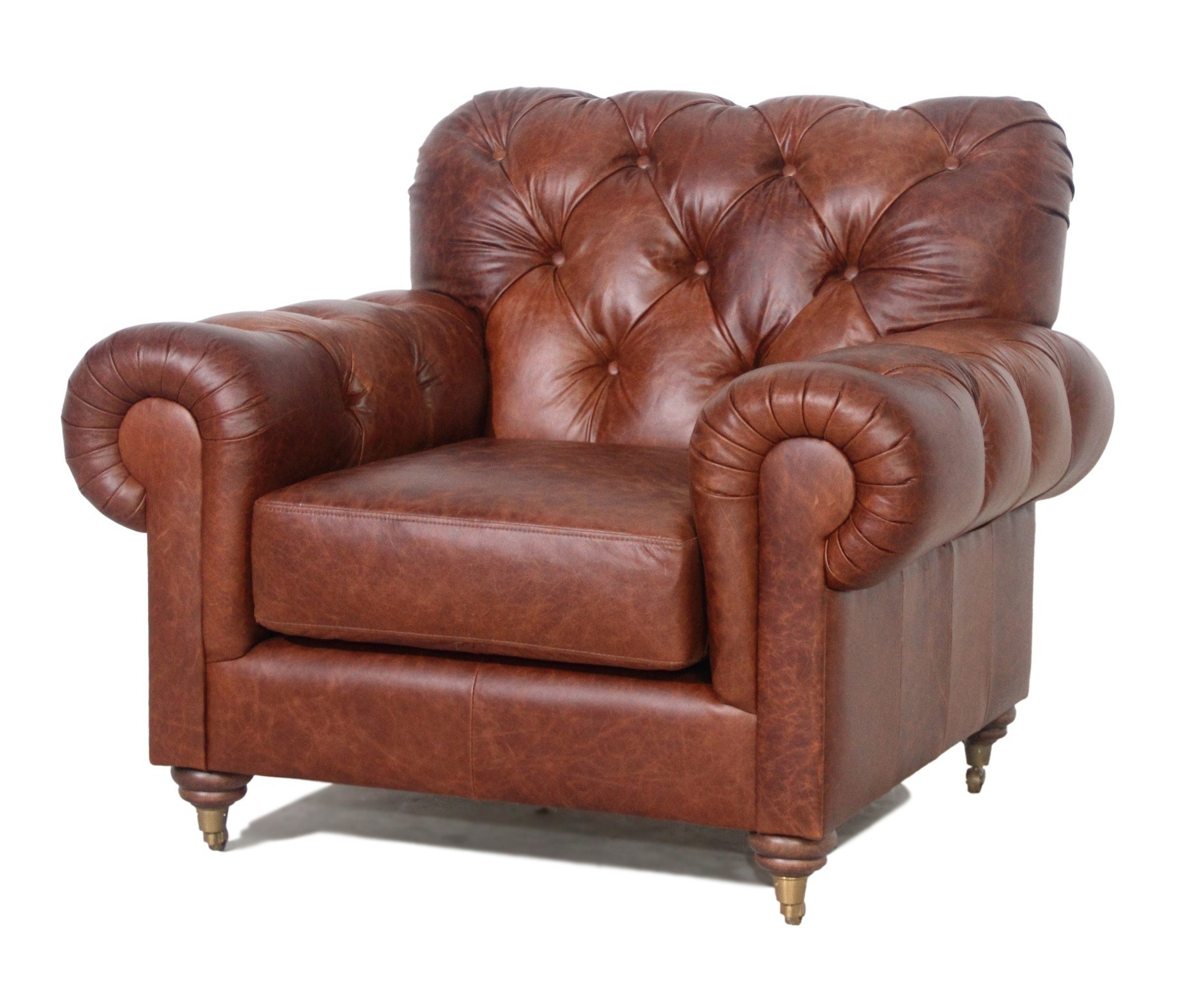 9033 Classic High Back Chesterfield Lounge