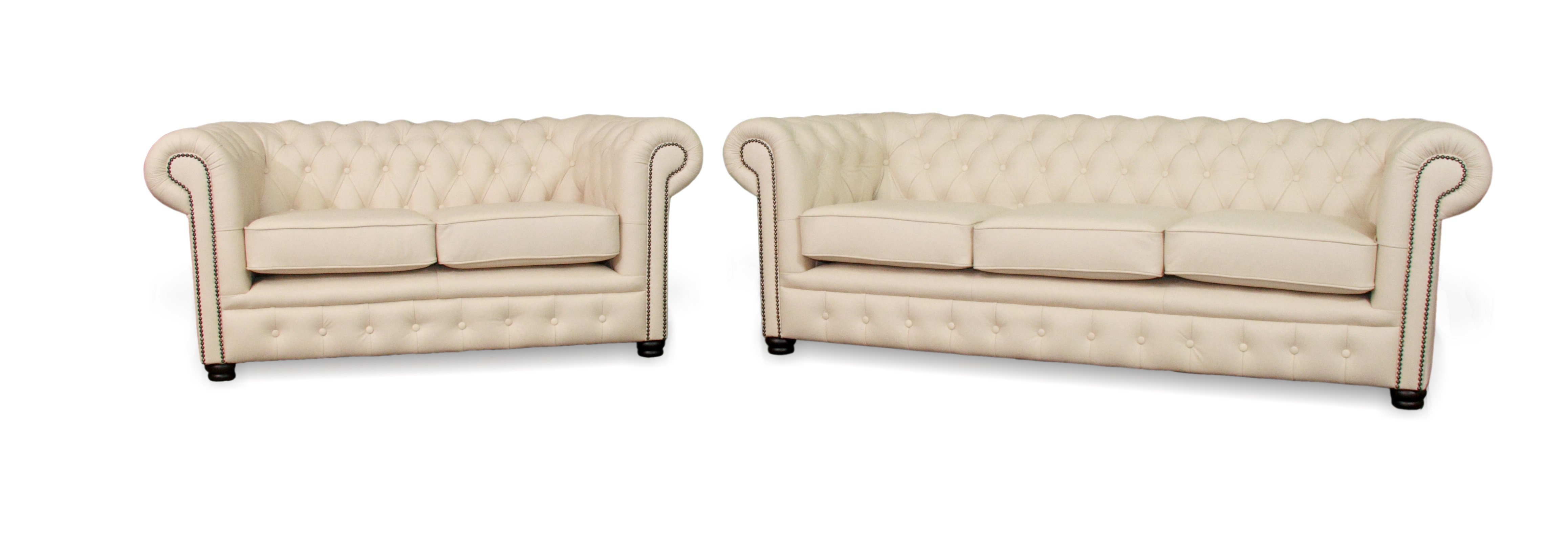Essex Classic Chesterfield Sofa Leather Lounge
