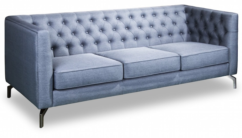 Karina 2 Seater Modern Chesterfield