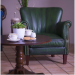 Taylor chesterfield armchair in situ