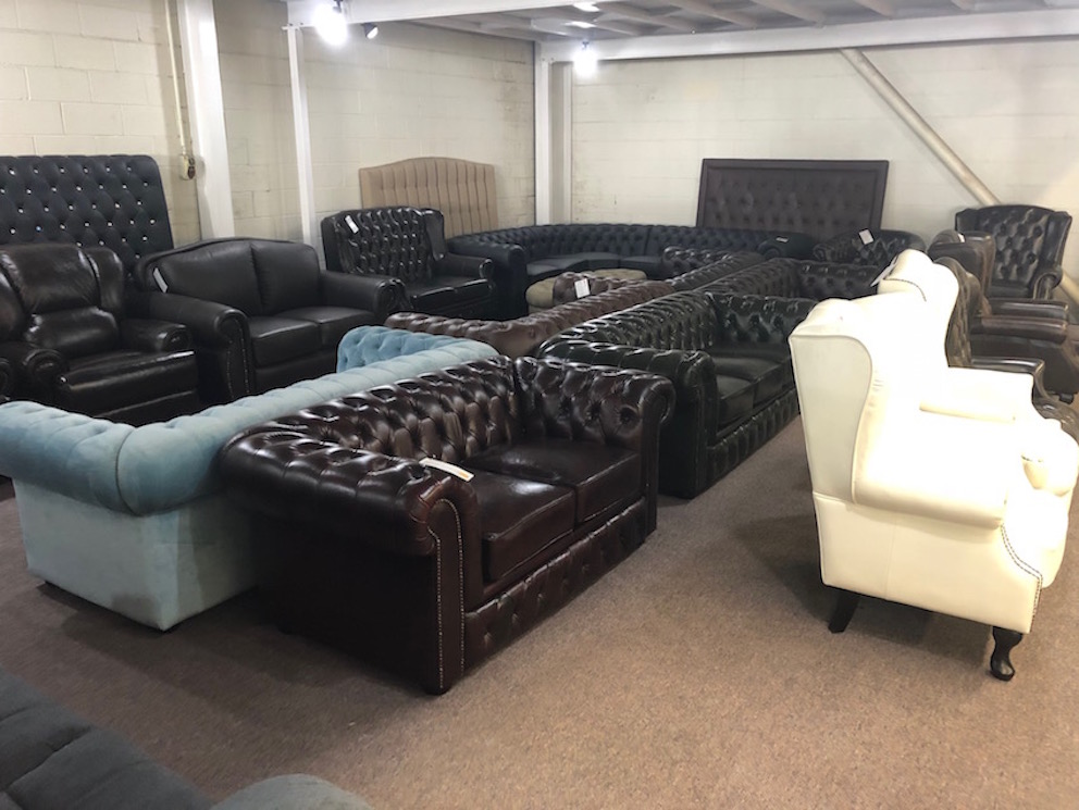 Chesterfield Lounges Showroom